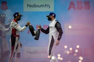 Podio: segundo lugar Rene Rast, Audi Sport ABT Schaeffler, 2tercer lugar Edoardo Mortara, Venturi Racing