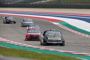 John Hunter Nemechek, Kyle Busch Motorsports, Toyota Tundra ROMCO, Tanner Gray, Team DGR, Ford F-150 Ford Performance