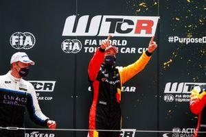 Podium: Frédéric Vervisch, Comtoyou Team Audi Sport Audi RS 3 LMS