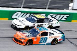 Harrison Burton, Joe Gibbs Racing, Toyota Supra Offerpad Awesome Different, A.J. Allmendinger, Kaulig Racing, Chevrolet Camaro Hyperice