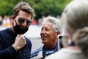 Tom Cruise and Mario Andretti