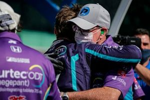 Polesitter Romain Grosjean, Dale Coyne Racing with RWR Honda
