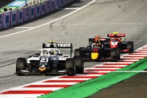 Lorenzo Colombo, Campos Racing, Ayumu Iwasa, Hitech Grand Prix et Clement Novalak, Trident