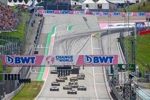 Start zum GP Österreich 2021 auf dem Red-Bull-Ring in Spielberg