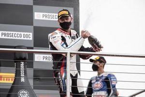 Podium: le 3ᵉ Tom Sykes, BMW Motorrad WorldSBK Team
