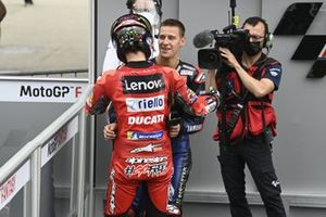 Francesco Bagnaia, Ducati Team, Fabio Quartararo, Yamaha Factory Racing