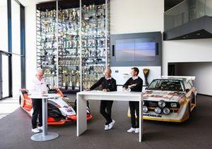 Stefan Moser, Stéphane Peterhansel, Édouard Boulanger, Audi Sport