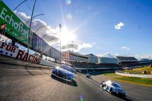 Ricky Stenhouse Jr., JTG Daugherty Racing, Chevrolet Camaro Cottonelle, Kyle Larson, Hendrick Motorsports, Chevrolet Camaro MetroTech