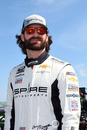 Corey LaJoie, Spire Motorsports, Chevrolet Camaro Pryor & Lee