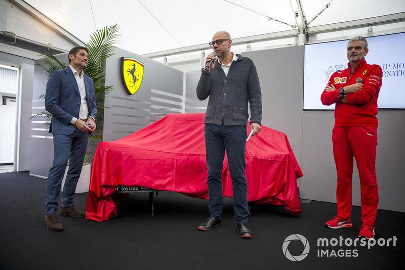 Новая ливрея Ferrari