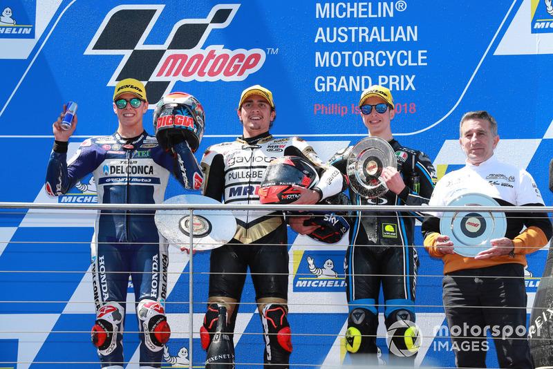 Fabio Di Giannantonio, Del Conca Gresini Racing, Albert Arenas, Ángel Nieto Team, Celestino Vietti, Jorge Martinez