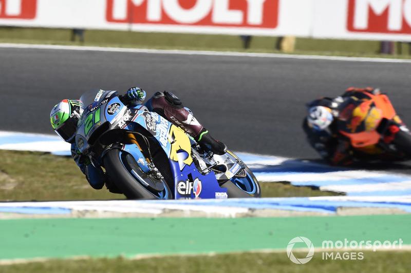 GP d'Australie : Franco Morbidelli (Estrella Galicia 0,0 Marc VDS), 8e