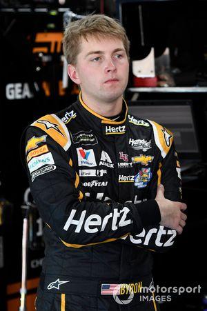 William Byron, Hendrick Motorsports, Chevrolet Camaro Hertz.