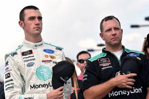 Austin Cindric, Team Penske, Ford Mustang MoneyLion and Brian Wilson