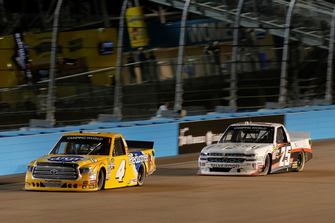 Todd Gilliland, Kyle Busch Motorsports, Toyota Tundra Pedigree, Tyler Dippel, GMS Racing, Chevrolet Silverado ALESSO