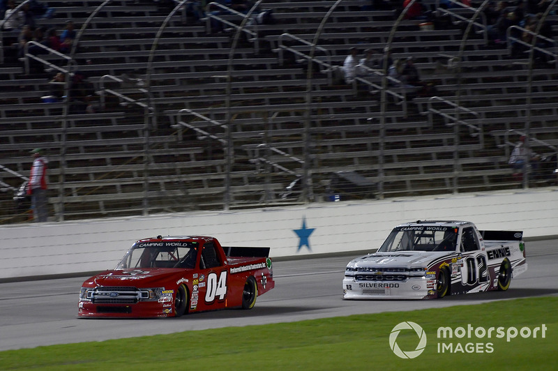 Cory Roper, Roper Racing, Ford F-150 Preferred Industrial Contractors Inc, Austin Hill, Young's Motorsports, Chevrolet Silverado Young's Building Systems
