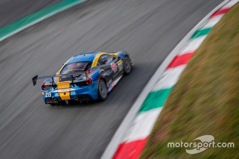 #213 Ferrari 488, Ferrari of Ontario: Marc Muzzo