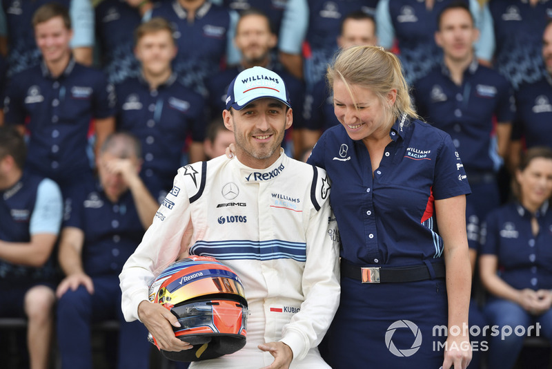 Robert Kubica, Williams y Sophie Ogg