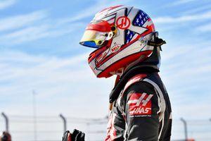 Kevin Magnussen, Haas F1 Team, parc ferme