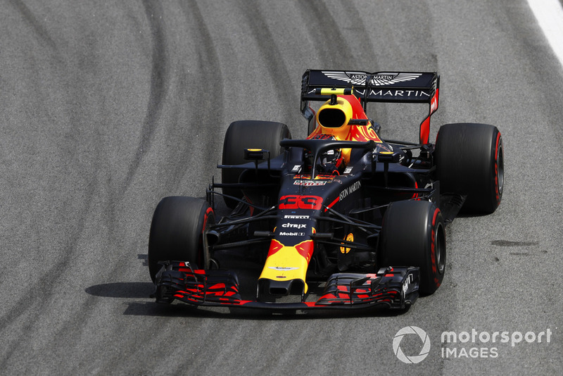 Max Verstappen, Red Bull Racing RB14.
