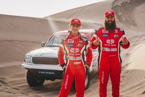 Fernanda Kanno and Alonso Carrillo, Toyota