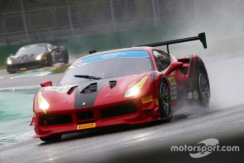 #322, Cauley Ferrari of Detroit: Brian Simon