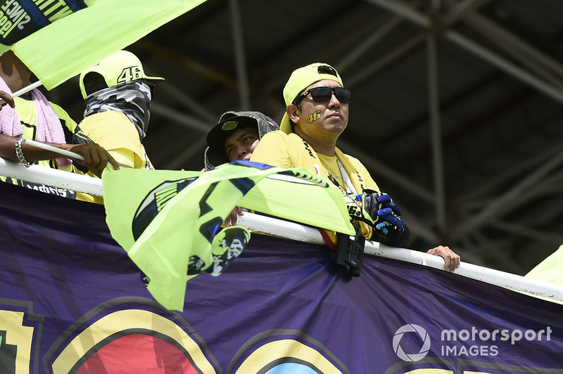 Fans Valentino Rossi, Yamaha Factory Racing