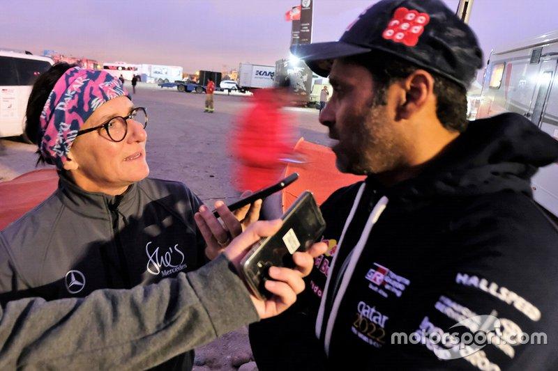 Ellen Lohr e Nasser Al-Attiyah, Toyota Gazoo Racing