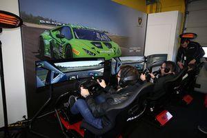 Simulator area