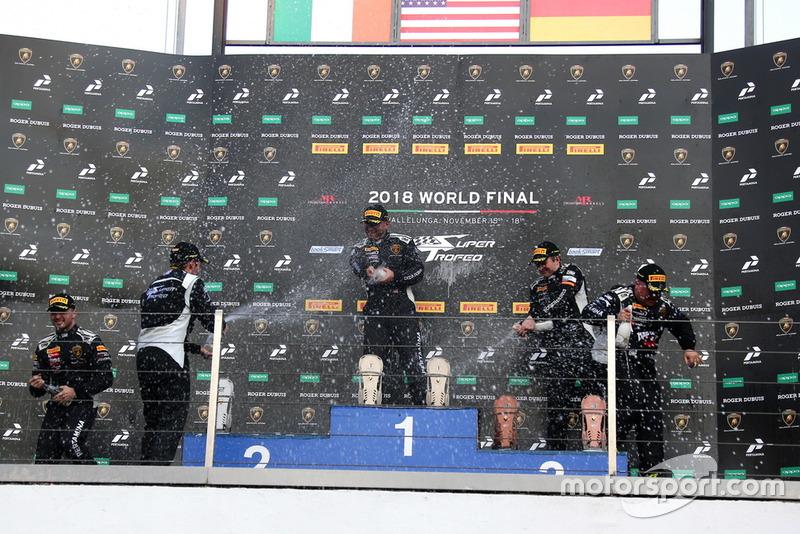 Podio World Final Gara 1 Pro Por Am
