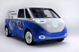 Volkswagen I.D. BUZZ features Pikes Peak livery