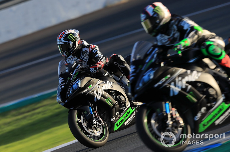 Jonathan Rea et Leon Haslam (Kawasaki Racing)