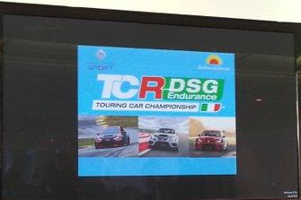 Presentazione del TCR DSG Endurance