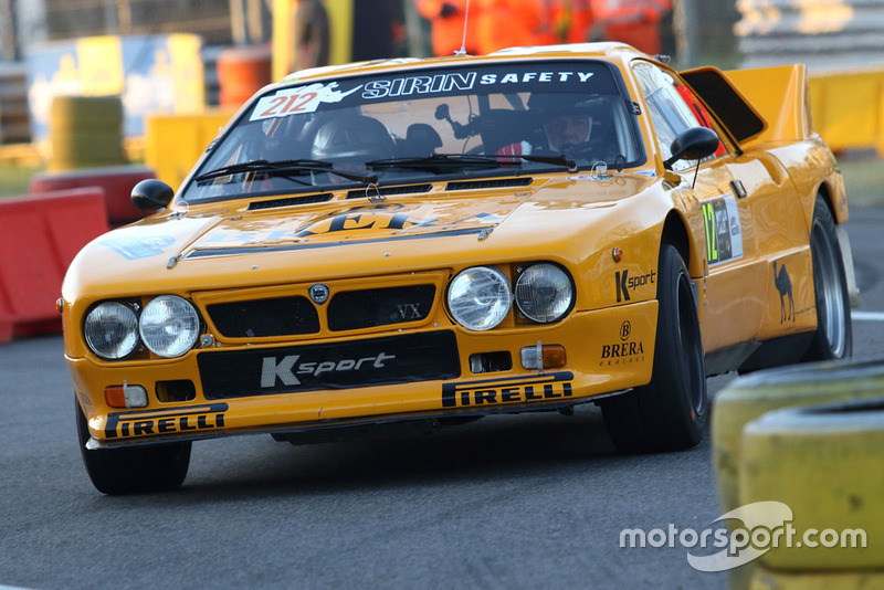 Carlo Incerti - Flavio Zanella (Lancia Rally 037)