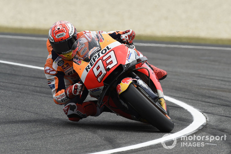 Marc Marquez, Repsol Honda Team, running wide