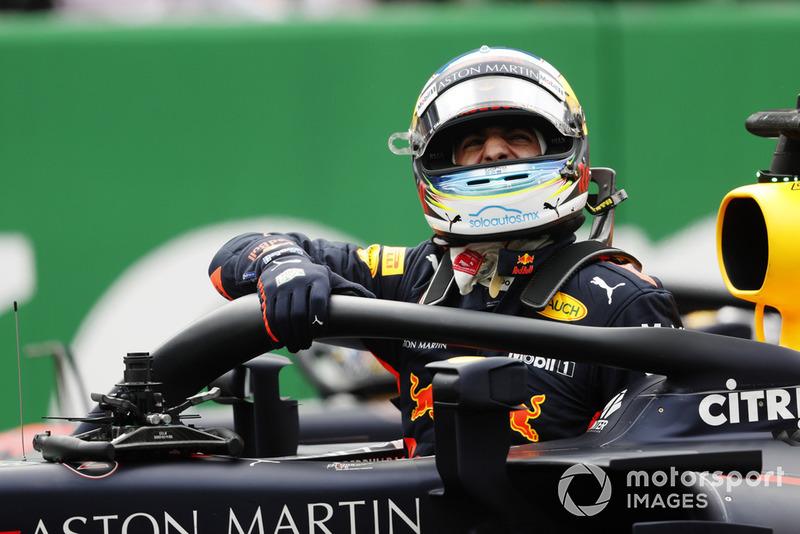 Обладатель поула Даниэль Риккардо, Red Bull Racing RB14
