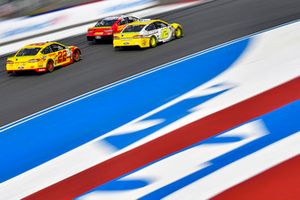 Ryan Blaney, Team Penske, Ford Fusion Menards/Pennzoil, Joey Logano, Team Penske, Ford Fusion Shell Pennzoil