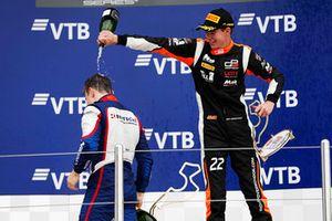 Podio: tercero, Richard Verschoor, MP Motorsport