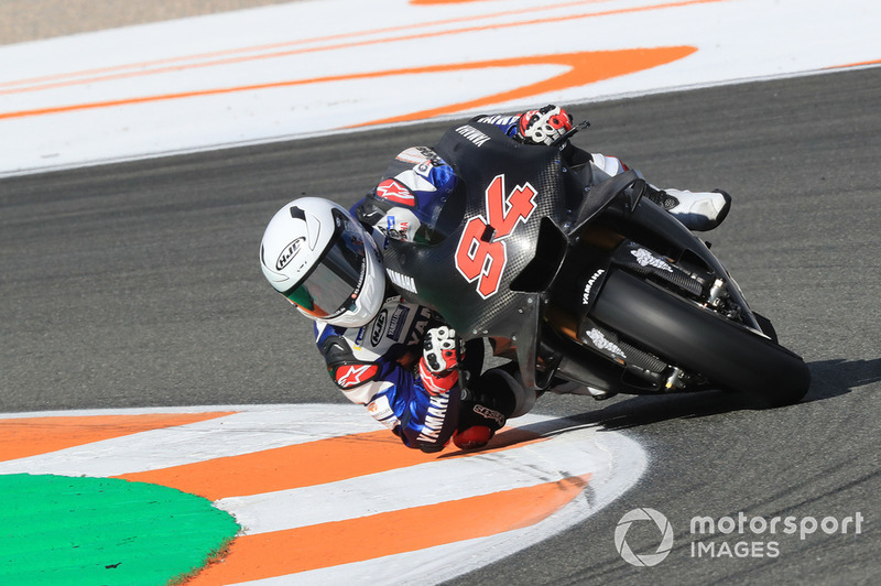Jonas Folger, Yamaha Factory Racing, bike