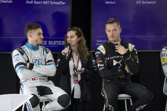 Press Conference Edoardo Mortara Venturi Formula E, Venturi VFE05, Andre Lotterer, DS TECHEETAH