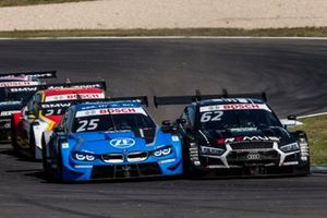Philipp Eng, BMW Team RBM, BMW M4 DTM, Sheldon van der Linde, BMW Team RBM, BMW M4 DTM, Ferdinand Habsburg, Audi Sport Team WRT, Audi RS 5 DTM;