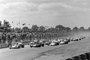 Jacky Ickx, Ferrari 312B2, Jackie Stewart, Tyrrell 003 Ford, Jo Siffert, BRM P160