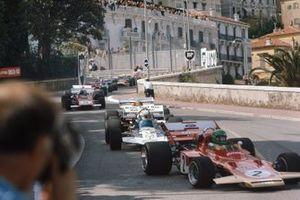 Reine Wisell, Lotus 72C Ford, John Surtees, Surtees TS9 Ford, Henri Pescarolo, March 711 Ford