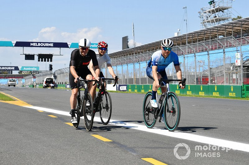 Taking bicycles out on track