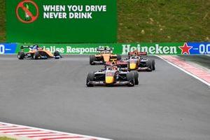 Liam Lawson, Hitech Grand Prix and Dennis Hauger, Hitech Grand Prix