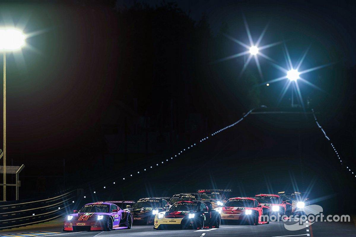 #57 Team Project 1 Porsche 911 RSR: Felipe Fraga, Matteo Cairoli, Tim Neuendorf, Zbigniew Siara