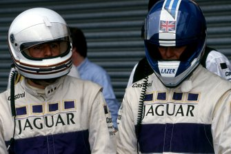 Martin Brundle, Derek Warwick, Jaguar Racing