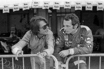 Luca di Montezemolo, Director de Equipo de Ferrari, Niki Lauda, Ferrari 312T