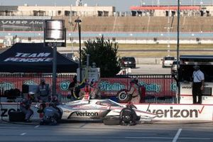 Will Power, Team Penske Chevrolet, in pitlane