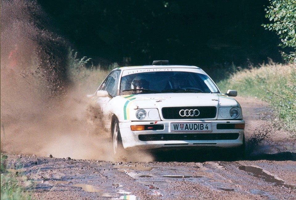 Lech Koraszewski, Grzegorz Dudek, Audi Coupe S2
